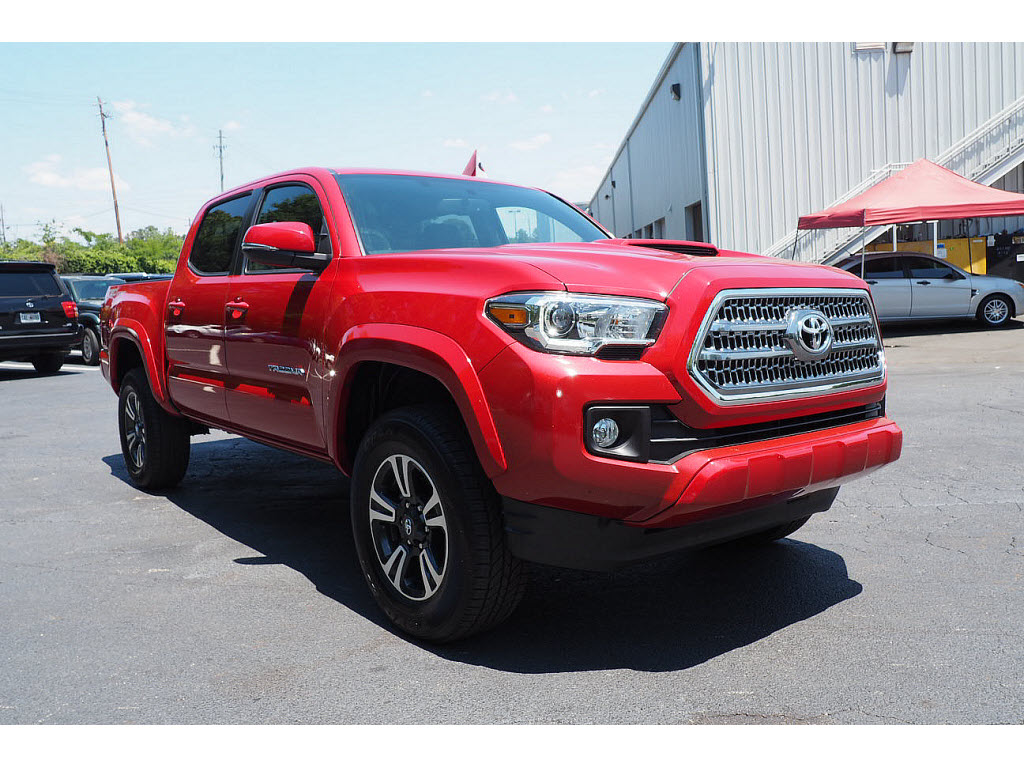 certified pre owned 2016 toyota tacoma trd sport 4x2 trd sport 4dr double cab 5 0 ft sb in. Black Bedroom Furniture Sets. Home Design Ideas